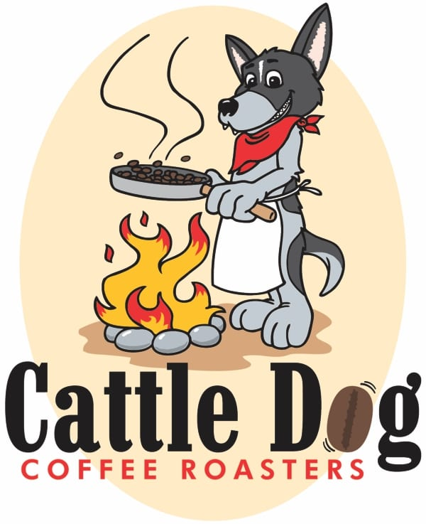 cattle dog coffe roasters logo