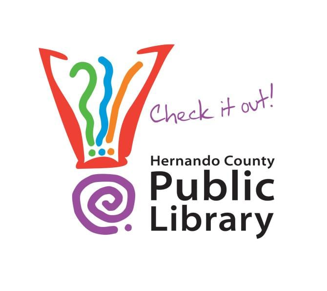 Hernando Co. Library logo