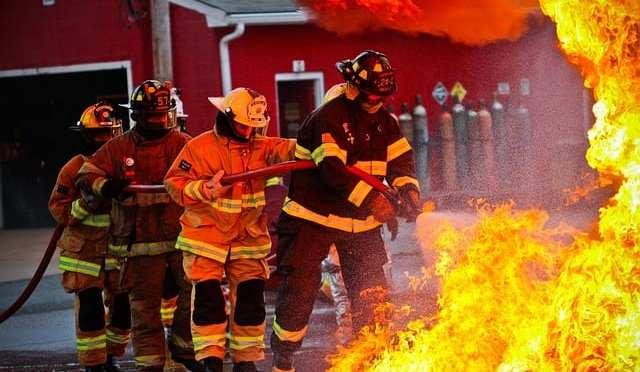 Hernando volunteer firefighters