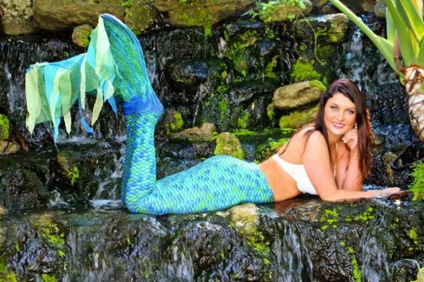 Cheyenne Bragg is a real mermaid at Weeki Wachee Springs State Park