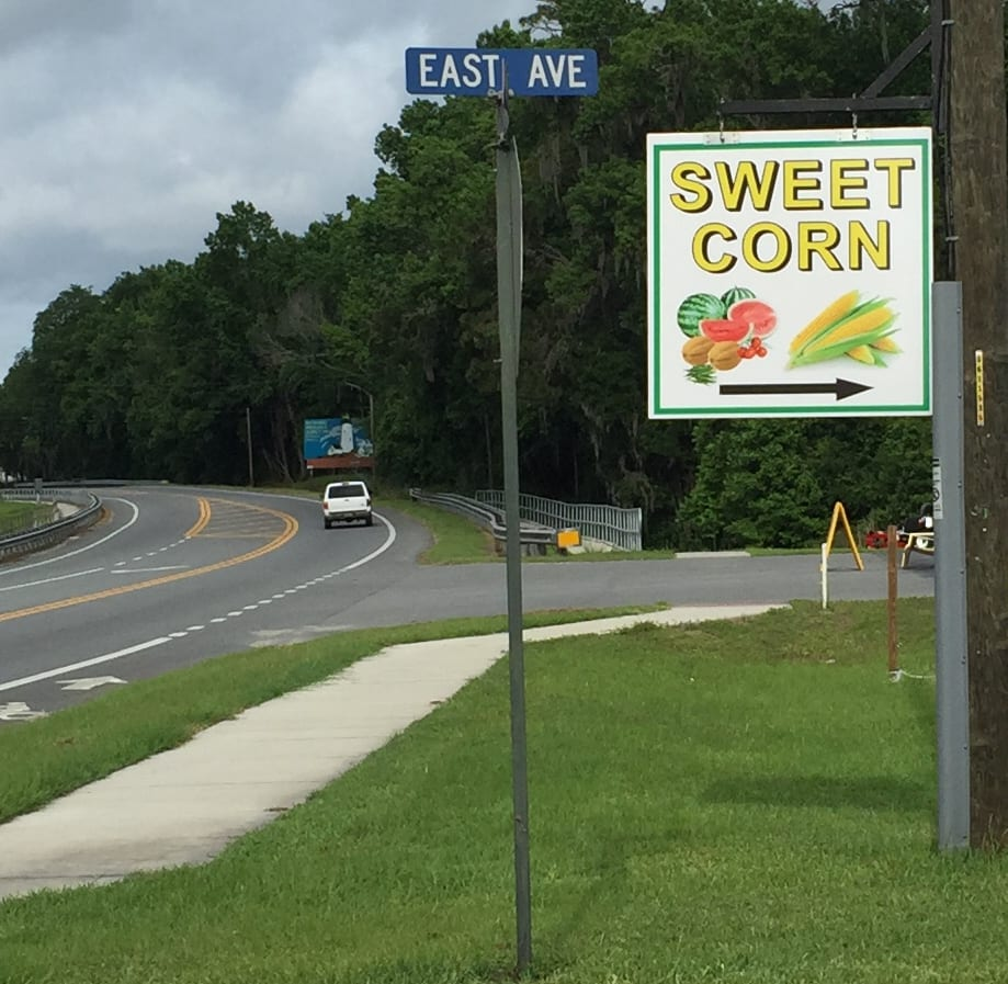 The sign on Broad Street in Brooksville is somewhat unassuming, but the harvest is well worth turning of the main street to find Frazier's Farm.