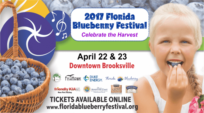 Florida's Blueberry Festival in Brooksville April 22-23