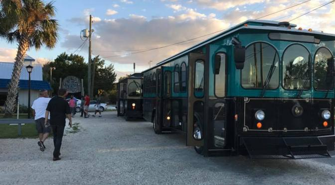 Citrus County Transit Orange Line interconnects with the Crystal River Trolley Hub to serve residents and visitors