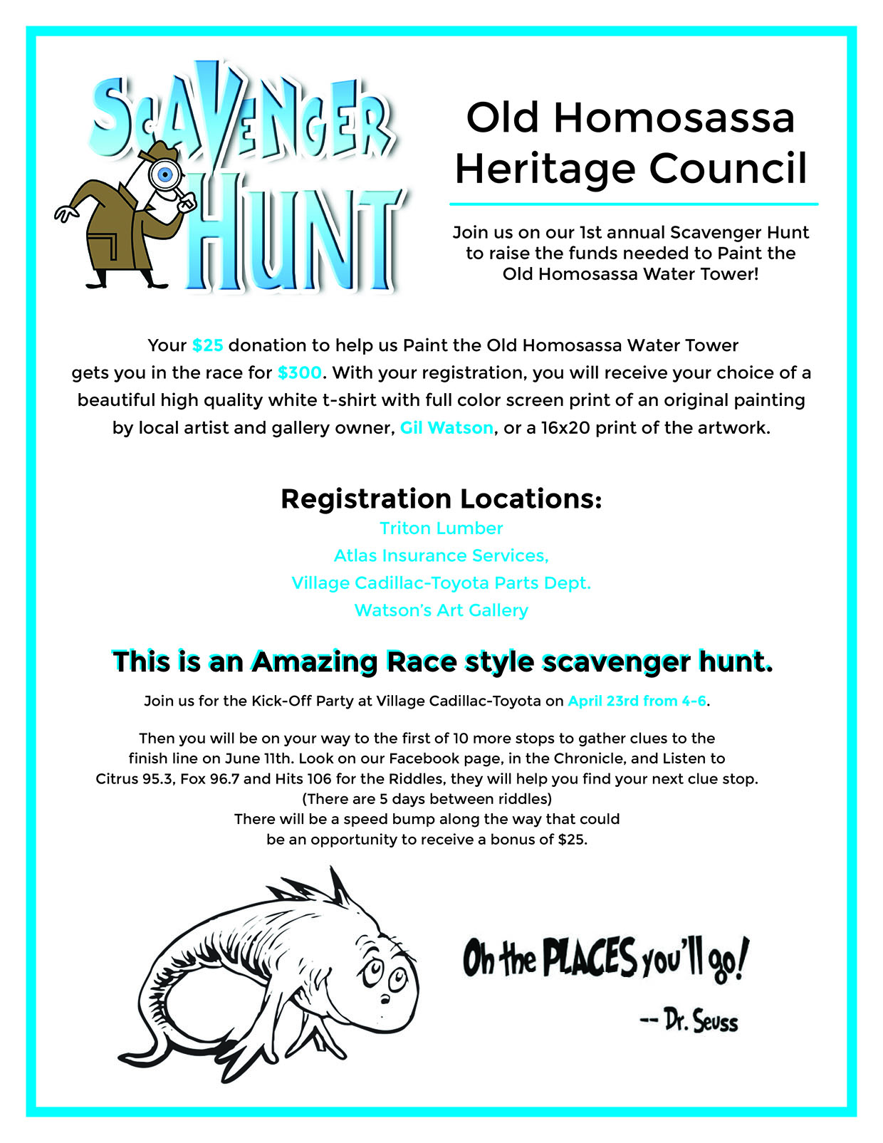 Scavenger Hunt with the Old Homosassa Heritage Council