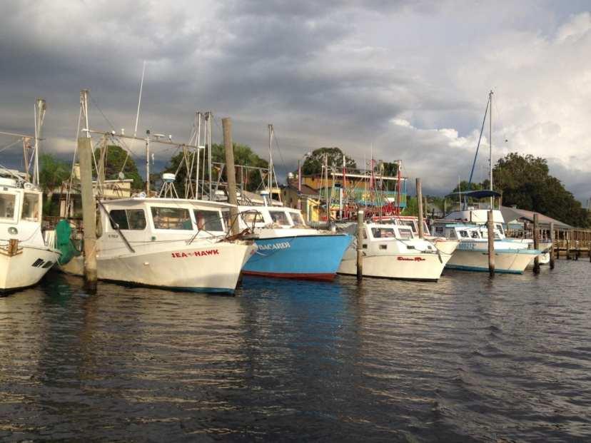 Boats on the bayou