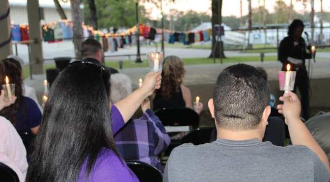 Sunrise of Pasco shines a light on Domestic Violence at 21st Candlelight Vigil