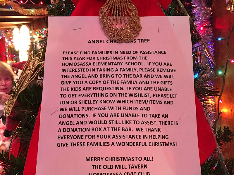Angel Tree at Old Mill Tavern