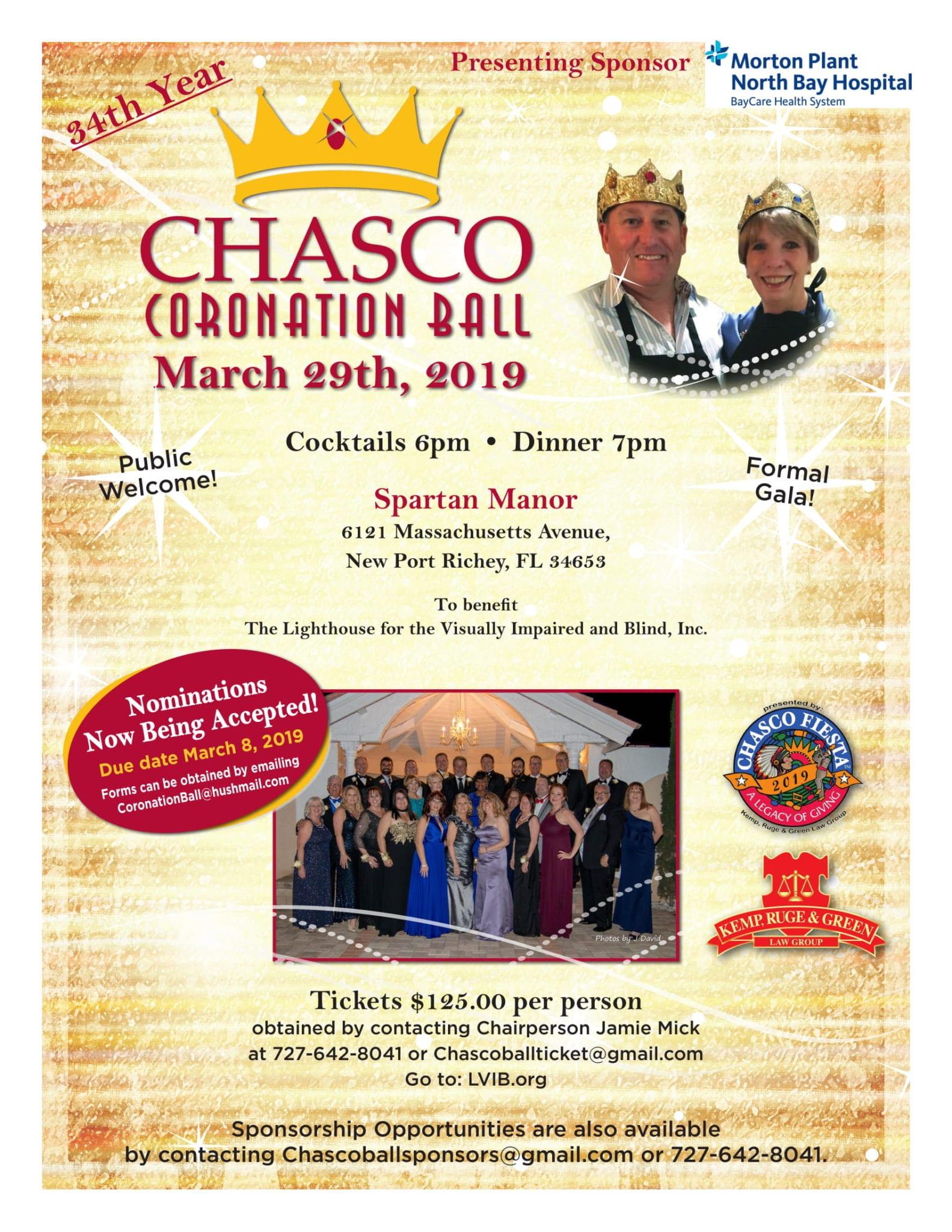 Chasco Coronation Ball