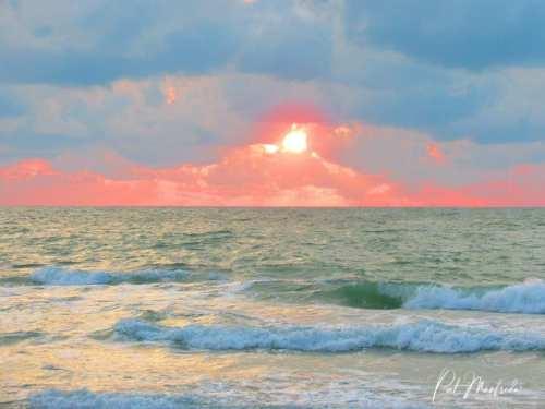 Pastel Gulf Sunset