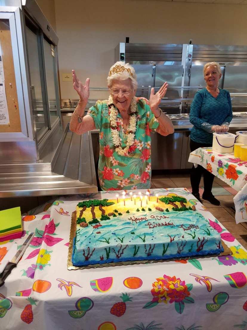 Special Volunteer Celebrates 90th Birthday
