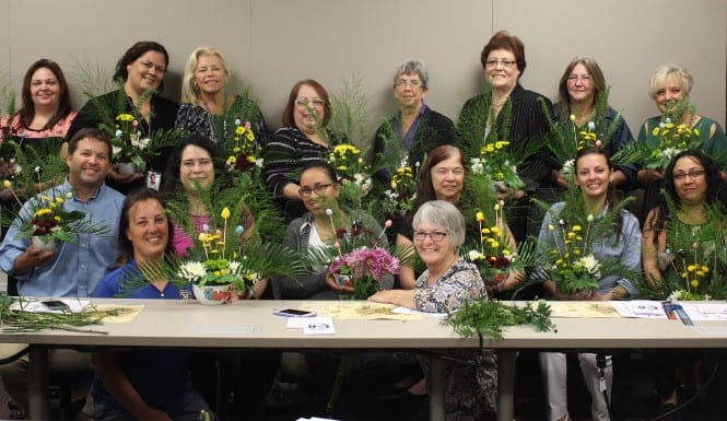 garden club floral arrangements