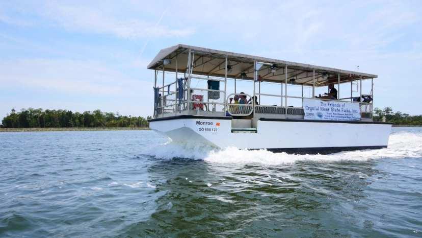 monroe boat tour