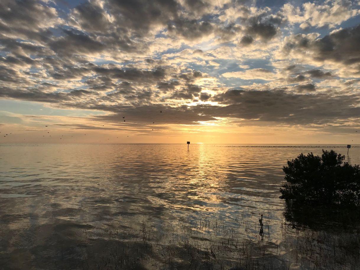 bayport sunset