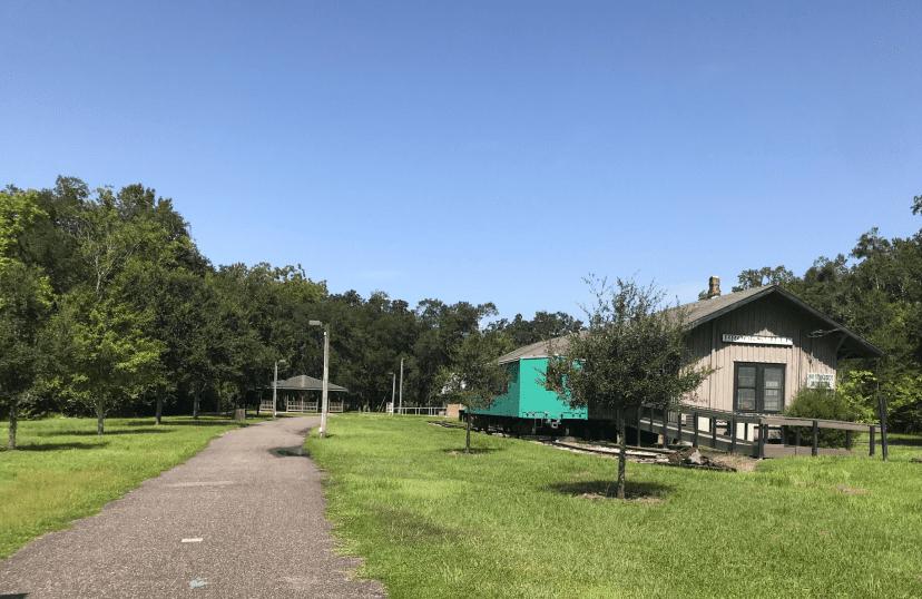 Brooksville Railroad depot