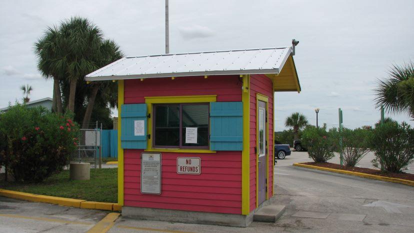 pine island entrance booth