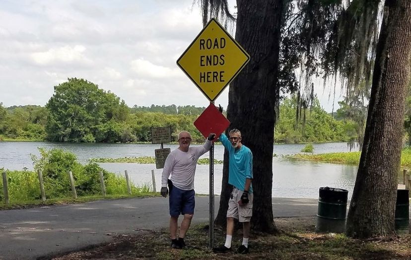Goldendale Boat Launch at Red Level/Dunnellon. Image courtesy of Max Schulman.