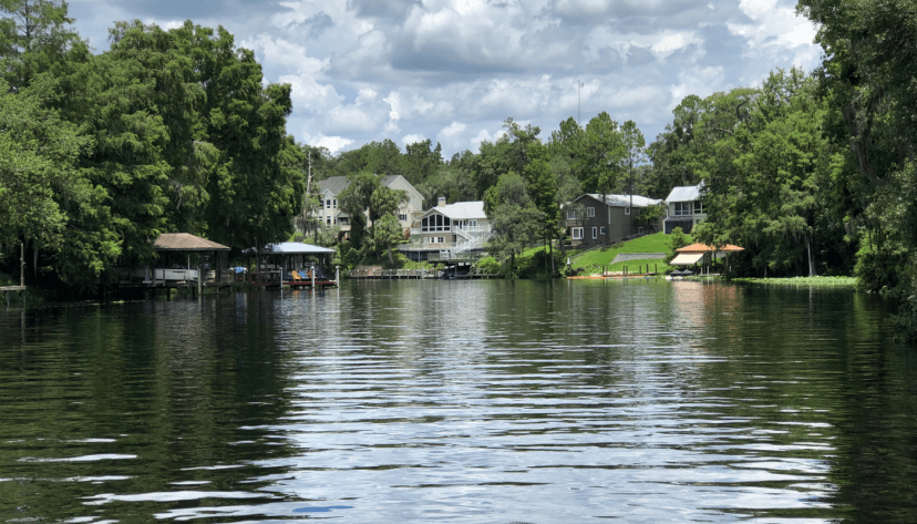 lower withlacoochee river home