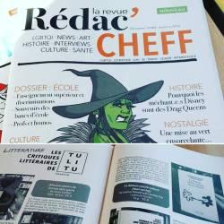 Dans le nouveau numéro du magazine des CHEFF, la librairie Tulitu vous livre ses coups de coeur littéraire et y présente notre livre! Merci!!