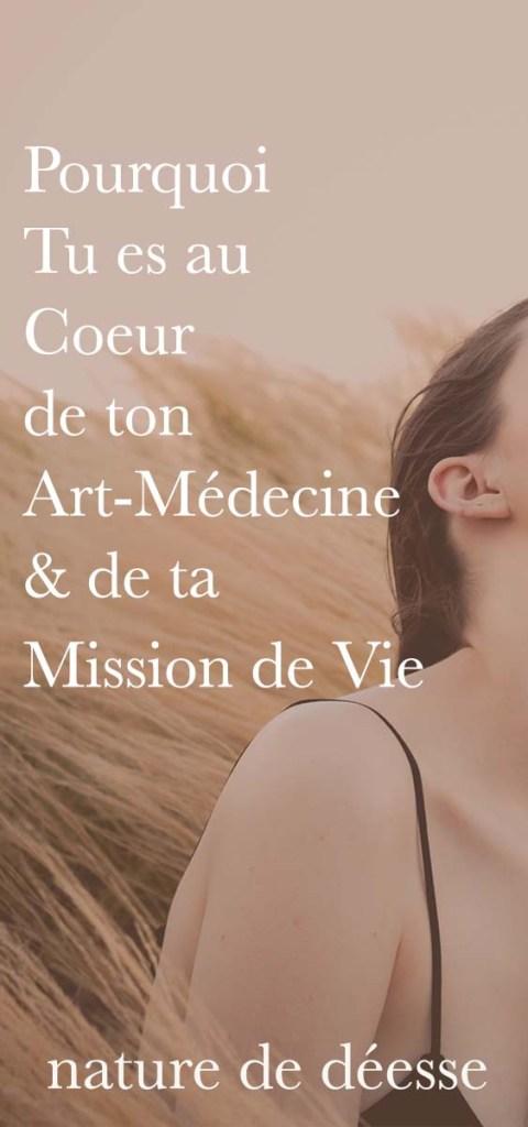 Etre toi est la ligne la plus directe pour déployer ton Art-Médecine et ta Mission de vie. Je ten parle dans cette vidéo.