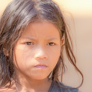 Nord Laos. Ethnie Kamu