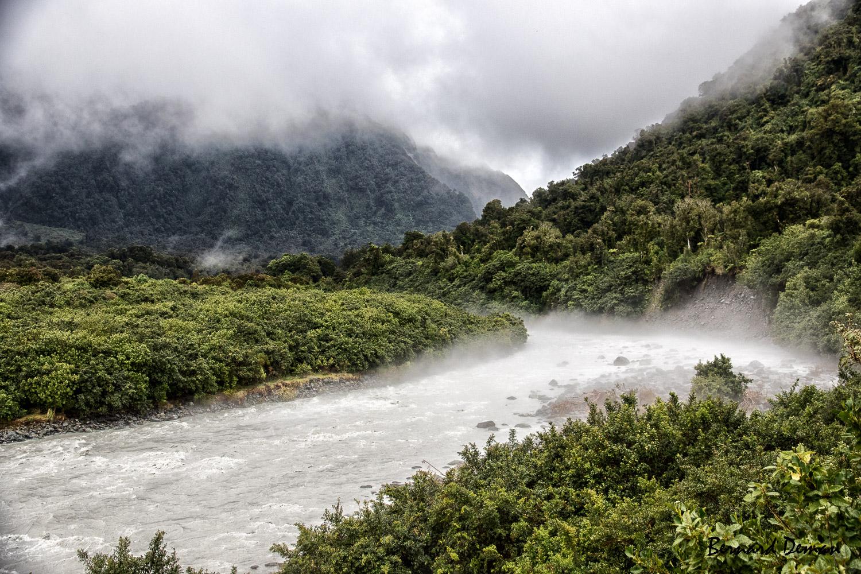 Nouvelle Zélande- Région glacier Franz Joseph