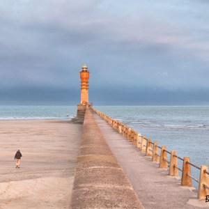 Feu de Saint Pol. Digue du Braek. Dunkerque. Nord