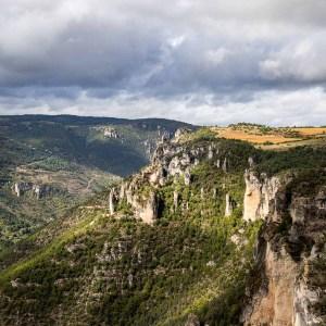 Gorges de la Jonte-Lozère-France