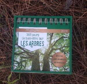 Calendrier 2019 sur les arbres et la sylvothérapie