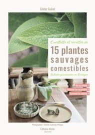livre sur les recettes de 15 plantes sauvages