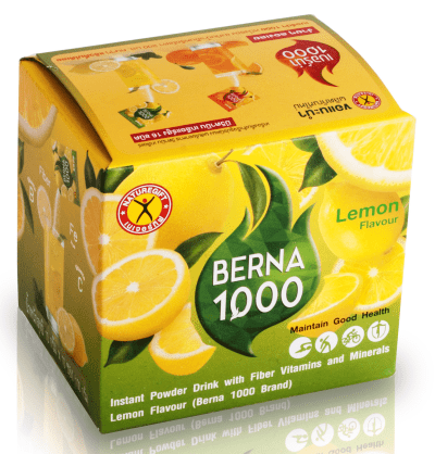 NatureGift Berna 1000 Lemon