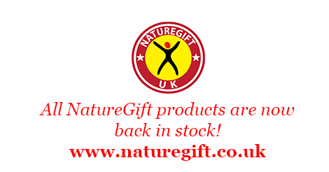 All NatureGift drinks back in stock!