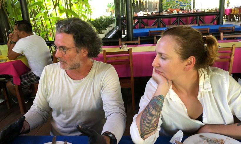 En Puerto Nariño con alumna MDI