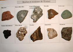 Planche Roches Minéraux Esterel