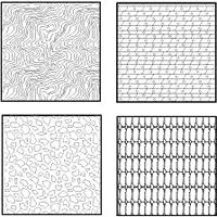 Textures carte géologique