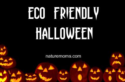 eco friendly halloween banner
