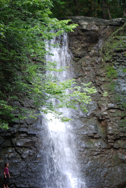 Water fall at Hayden Falls