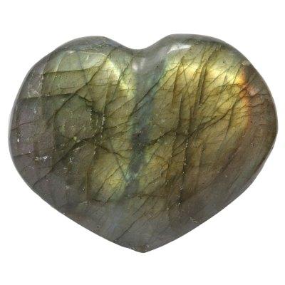HLAB - Labradorite Heart