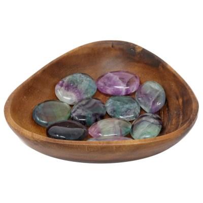 CPSFL - Palm Stone: Rainbow Fluorite
