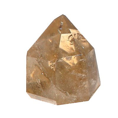 NCP5A - Natural Citrine Polished Point