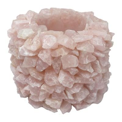 VRQP - Rose Quartz Point Vase