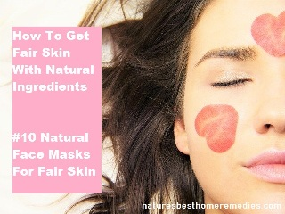 how to get fair skin fast naturally