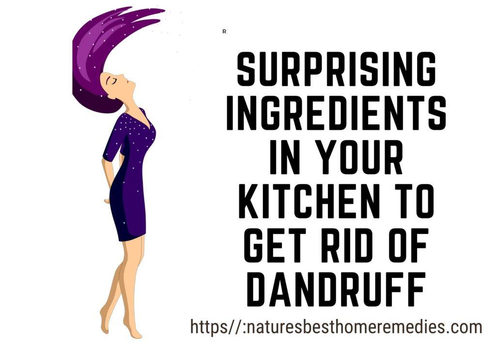 get rid of dandruff naturally