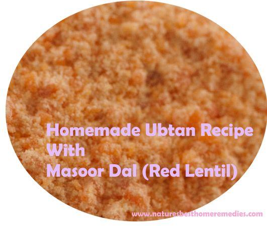 homemade ubtan recipe