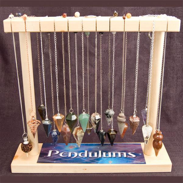 Pendulum Display Small Faceted Gemstone 27display