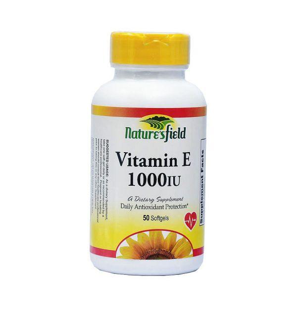 nature's field vitamin E