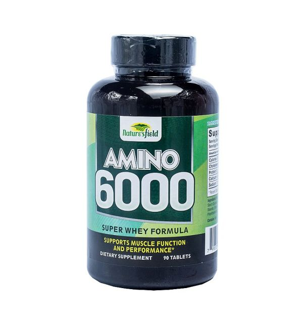 Nature's Field Amino 6000 Super Whey Protein Formula