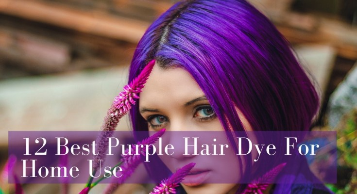 12 Best Purple Hair Dye For Home Use