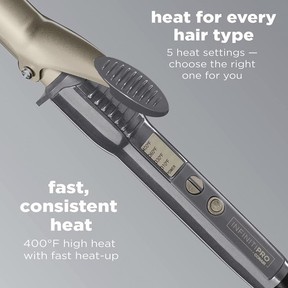 INFINITI PRO BY CONAIR Nano Tourmaline Ceramic Curling Iron