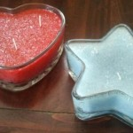 heart and star candles