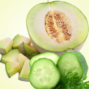 cucumber & melons scent